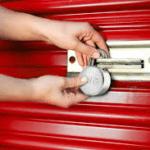 Storage unit locks